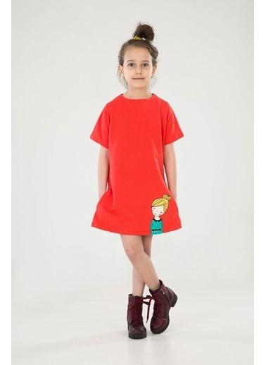 Zeno Kido Elbise Kırmızı
